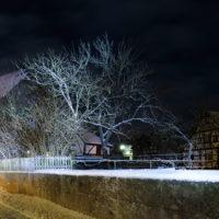 Cadolzburg Nacht Winter