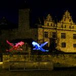 Lightpainting Cadolzburg