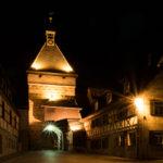 Marktplatz Cadolzburg Nacht