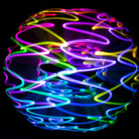Lightpainting Swirl Orb