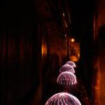 Lightpainting Cadolzburg Nacht