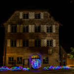 Lightpainting Cadolzburg