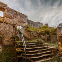 Hassberge Ruine Bramberg