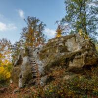 Hassberge Ruine Rotenhan