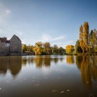 Hassberge Wasserschloss Brennhausen