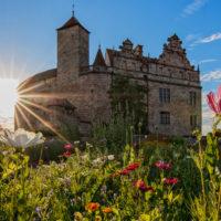 Sommerabend-Burg_Cadolzburg