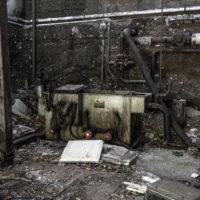 Papierfabrik im Wald